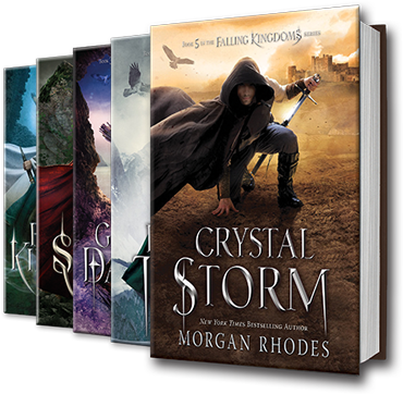 Falling Kingdom Book Series Book Covers