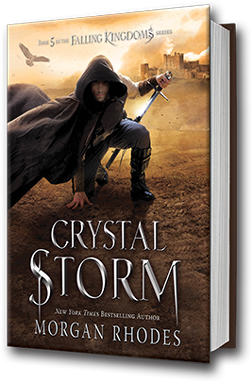 Crystal Storm book cover